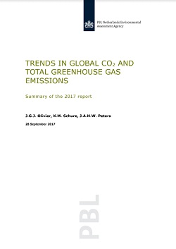 Click to download report 'Trends in Global CO2 and total Greenhouse Gas Emissions'