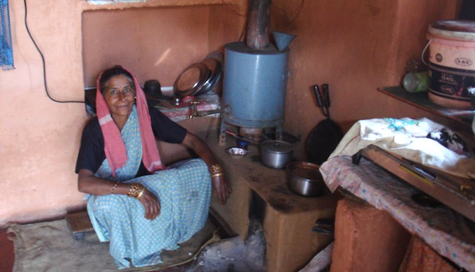 The eco-friendly cook stove used in some villages of Uttarakhand has a minimal carbon footprint (Photo by Juhi Chaudhary)