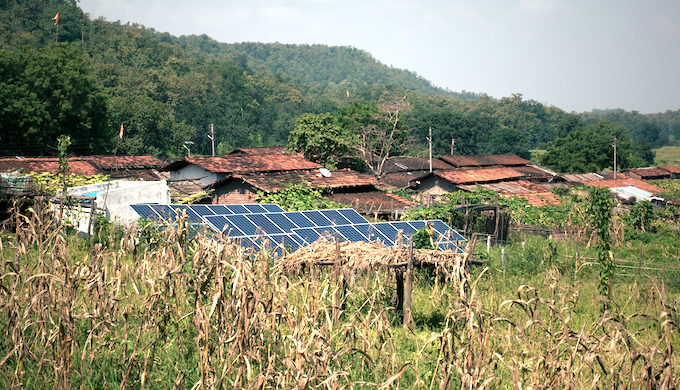 Solar micro-grids enable sustainable rural living