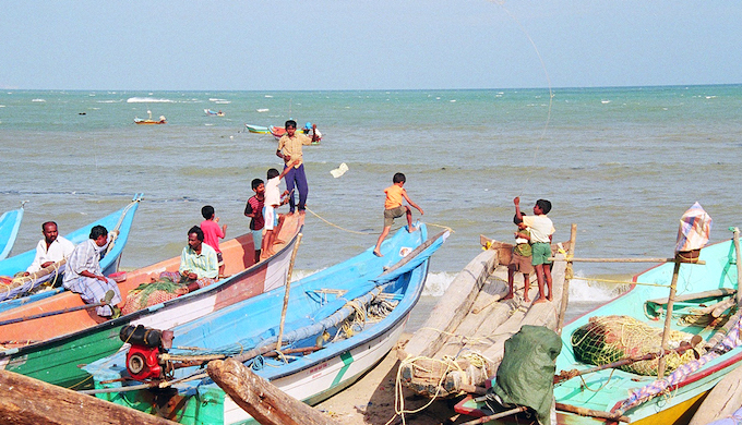 Unpredictable seas push fishers away from home