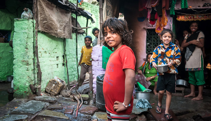 Poor people living in urban slums are at heightened risk from heat stress (Photo by Michal Huniewicz)
