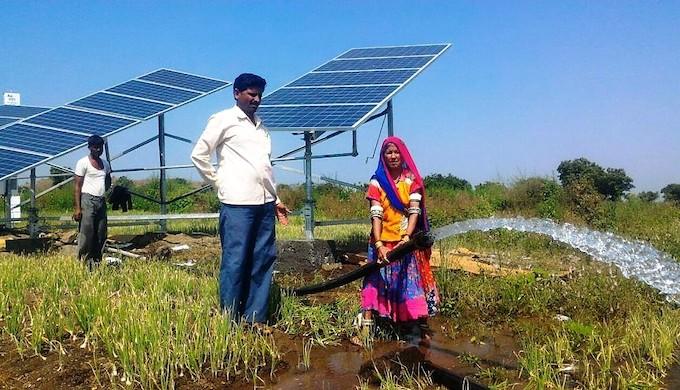 Sun empowers Maharashtra farmers