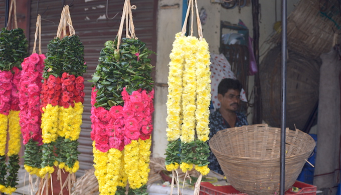 Raman, a flower seller in Chennai, said that he has stopped selling flowers in plastic bags after the government imposed a ban