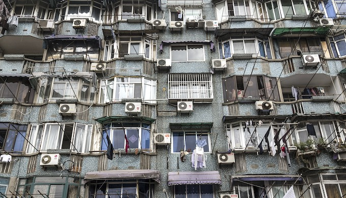 Hydrofluorocarbons used in home air-conditioners are warming up the planet (Photo by Sławomir Kowalewski)