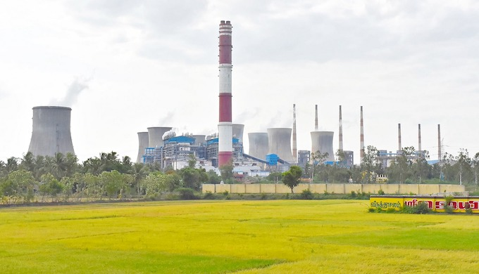 Despite promoting renewables, Tamil Nadu continues to remain invested in coal-fired power plants (Photo by Jerubal Jay)