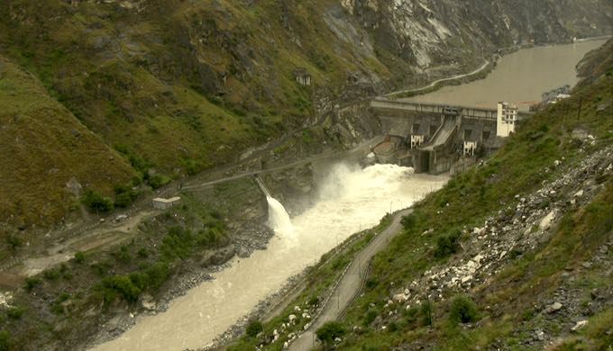 If the dams are all commissioned, 93% of the Sutlej in Himachal Pradesh would flow through tunnels or be in reservoirs