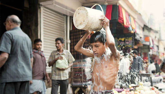 The heat in Indian cities is becoming increasingly unbearable in the summer (Photo by Flickr)