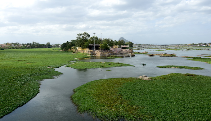 Kooduthurai, at the confluence of the Cauvery, Bhavani and mythical Amudha rivers, is considered as a holy place by the Hindus (Photo by Anusha Sundar)