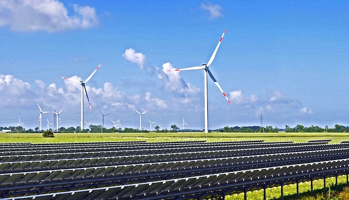 Renewable energy has become a viable source of power in India (Photo by Erich Westendarp)