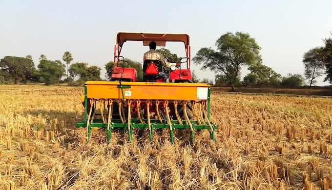 Happy Seeders reduce air pollution, boost farm incomes