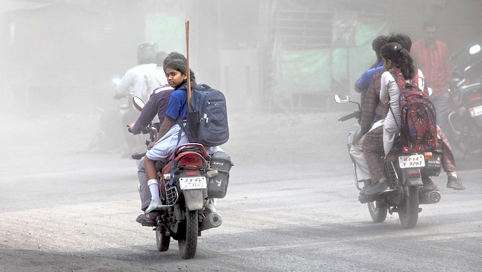 Air pollution has emerged as a serious problem in the national capital region (Photo by GSCC)