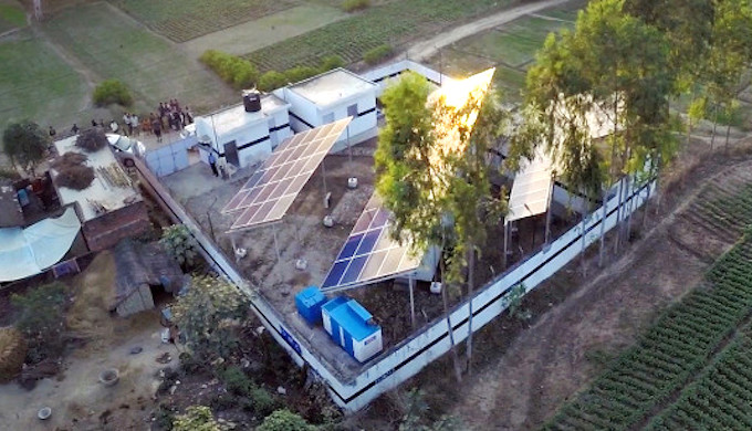 Microgrids can end energy poverty in India's villages (Photo by OMC Power)