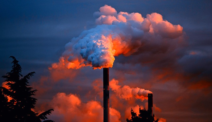 Levels of heat-trapping greenhouse gases in the atmosphere have reached a record high (Photo by P.M. Juergen)