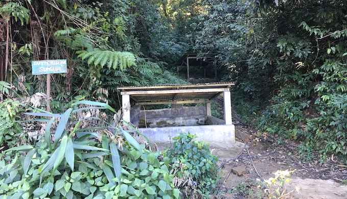 A water harvesting structure in Sumsuih village in Mizoram (Photo by GIZ)