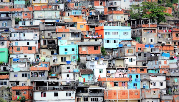 Dense housing in Surat, India (Photo by Lubaina Rangwala)