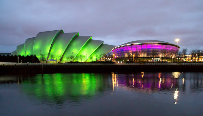 Glasgow will host the climate summit in November next year (Photo by Hamish Irvine)