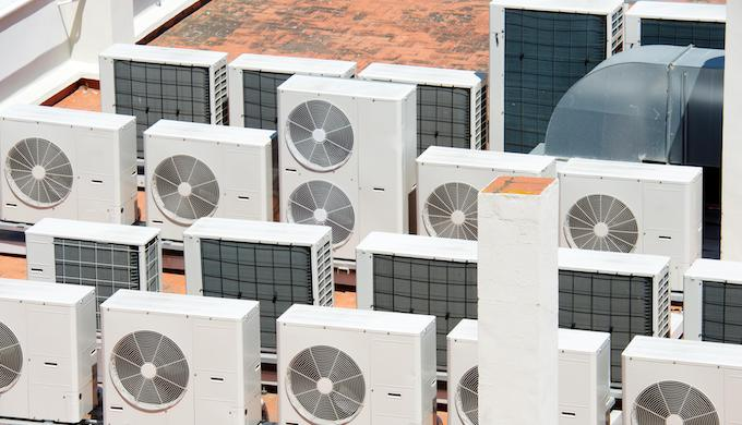 Use of air-conditioners are rising rapidly in tropical countries (Photo by Alamy)