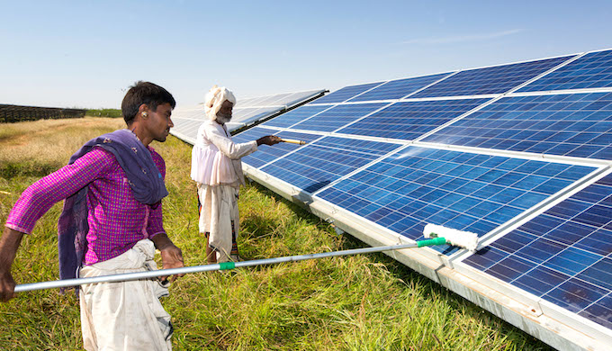 Building solar parks may become costlier in India (Photo by Ashley Cooper/Alamy)