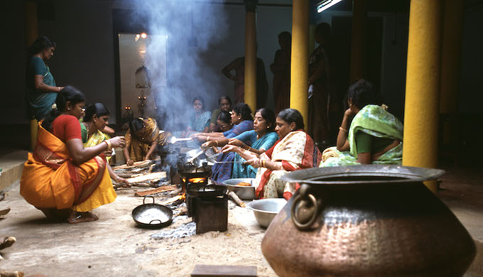 Women are particularly vulnerable to indoor air pollution (Photo by Alamy)