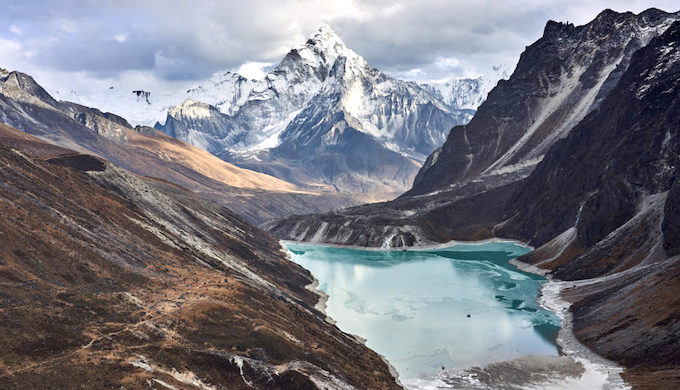 Glacial lakes become more deadly as Himalayan ice melts