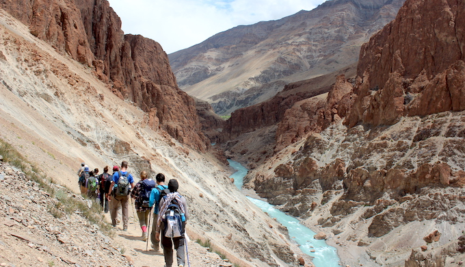 Treks and adventure tourism help bring clean electricity to villages in Ladakh (Photo courtesy: Great Himalayan Expeditions)