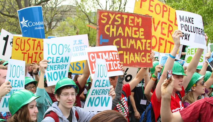 Public pressure is forcing wealthy nations to take climate action (Photo by Linh Do)