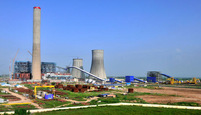 A thermal power plant in India (Photo by Alamy)