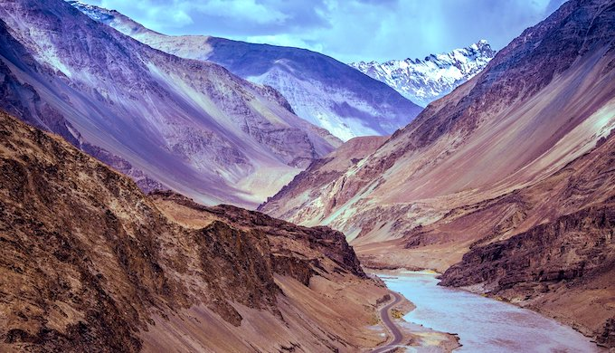 Water levels in Himalayan river basins drop as world warms